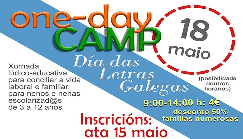 ONE-DAY CAMP