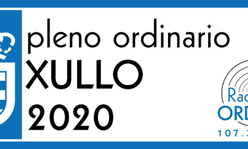 AUDIO PLENO ORDINARIO XULLO 2020